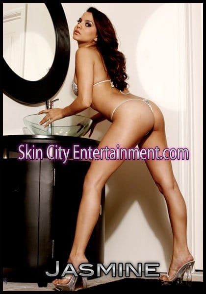 Female stripper exotic dancer jasmine